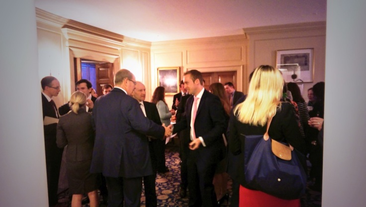 Colin Carroll (Founder of LBDC chatting to guests)
